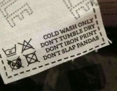 Funny label