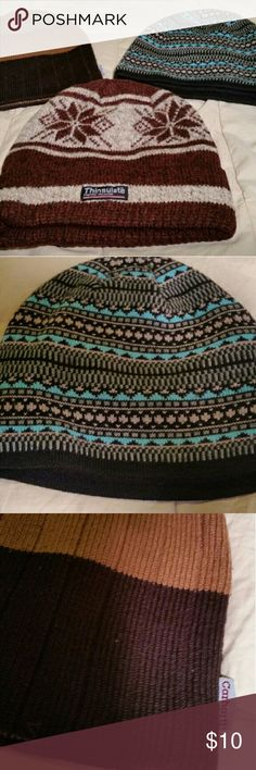 3 Men's/Boy's Winter Hats GREAT DEAL!!! ALL 3 FOR $10! Very Stylish & Warm Men's/Boy's Winter Hats Excellent Condition!! Accessories Hats
