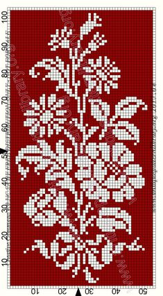 Small Cross Stitch, Beaded Cross Stitch, Cross Stitch Rose, Cross Stitch Borders, Cross Stitch Flowers, Counted Cross Stitch Patterns, Cross Stitch Designs, Cross Stitching, Crochet Bedspread Pattern