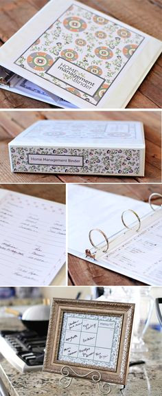 I Heart Organizing - a HOME Mgmt. Binder!!! - - -  Closet clean up - if only I could get this done!