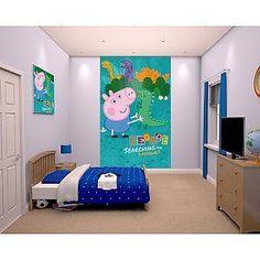 peppa pig bedroom poster akarhaber mural