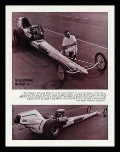 """Galloping Ghost ll"" Dragster, 1970"