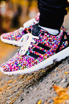 """"""" Adidas ZX Flux """"Multi-Color"""" - I need"""