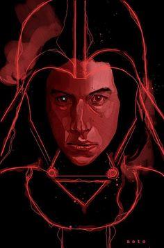 Phil Noto ( Star Wars VII - Kylo Ren - Ben Solo ) *