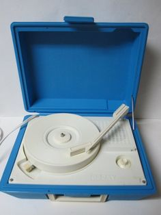 Vintage de JAY Children's Vinyl Record Player