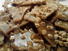 Peanut Butter Chip Brittle