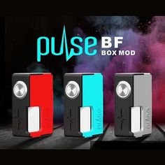#electroniccigarettes PULSE BF BOX MOD A TONY B PROJECT BY VANDYVAPE