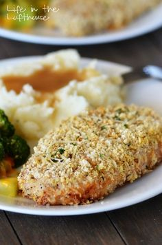 I've tried pork chops a bunch of different ways. I love them fried and smothered (oh yes!), but when I'm leaning on a more healthy version it's these Baked Parmesan Pork Chops I always...
