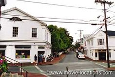 Jaws filming location: Edgartown, Martha's Vineyard, Massachusetts