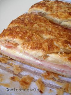 Cocinándotelo: Empanadas y Pizzas Quiches, Omelettes, Good Food, Yummy Food, Puff Pastry Recipes, Latin Food, International Recipes, I Foods, Mexican Food Recipes