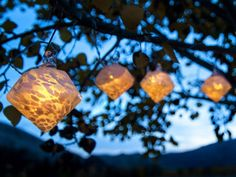 HGTV offers ideas for a variety of solar lights for the garden.