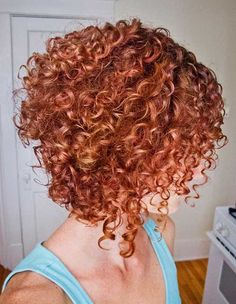 Short Hairstyle for Curly Thick Hair