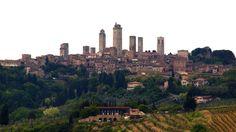20 Pueblos de La Toscana.San Gimignano - Medieval Manhattan of Tuscany