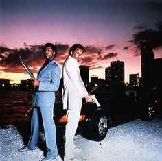 Miami Vice, Tubbs and Crockett in 1984