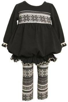 Amazon.com: Bonnie Baby-girls Infant Knit To Sweater Knit Legging Set: Clothing