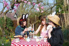 Alice in wonderland photoshoot by Betty__, via Flickr