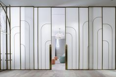 View the full picture gallery of L'hotel Nina Ballroom & Nina Bridal Suite Partition Design, Glass Partition, Barrisol Ceiling, Ballroom Design, Wardrobe Door Designs, Sliding Wall, Hotel Interiors, Bridal Suite, Windows And Doors