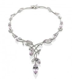 Angels Garland Diamond Necklace  l  Boodles ~ British Excellence in Jewelry