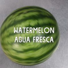 Watermelon Agua Fresca // The perfect summertime drink that infuses the water with fruit essence without turning it into a smoothie or a slushy drink.