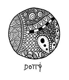 DOTTI fine illustrationer ~ flere forskellige på BeKuhlmann.dk (c) DOTTI