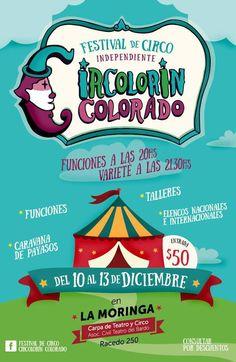 10 al 13 Diciembre Parana - Festival Circolorin Colorado   Region Litoral