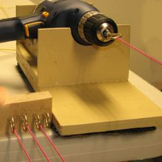 Making cords for ply splitting