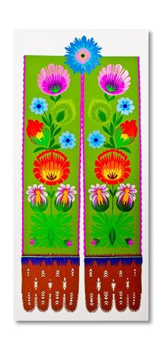 Polish Folk Art, Folk Fashion, Nice Things, Folklore, Japanese Art, Paper Cutting, Doll Clothes, Tape, Mexican