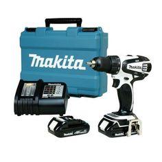 Makita - LXT Lithium-Ion Cordless Compact Drill/Driver (18V - 20V max) - LXFD01CW1 - Home Depot Canada  $199
