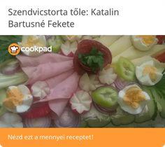 Szendvicstorta Fresh Rolls, Ethnic Recipes, Food, Essen, Meals, Yemek, Eten