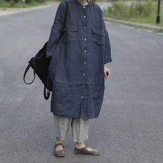 Casual Plus Size Loose Fitting Short Sleeve Linen Cotton Maxi