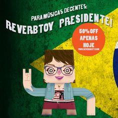 50% DE DESCONTO EM TODA REVERBCITY APENAS HOJE!