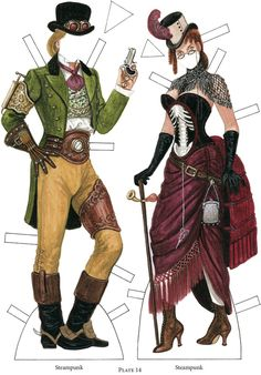 Fashion Fads 5 (Steampunk) by Dover Publications