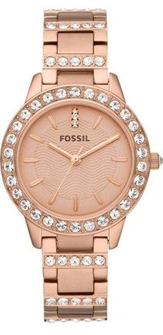 Rose gold @fossil watch. love, love, love!