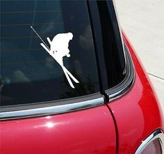 Snow #skiing #3 powder ski #skier skis graphic decal sticker art car wall #decor,  View more on the LINK: http://www.zeppy.io/product/gb/2/371689652669/