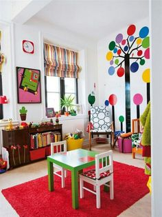 Colrful playroom