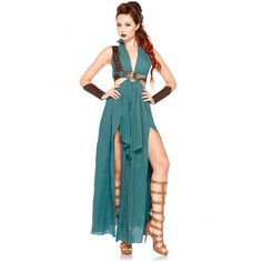 Warrior Maiden Costume ($49) ❤ liked on Polyvore featuring costumes, dresses, halloween costumes, other, plus size womens halloween costumes, warrior maiden costume, blue halloween costume, sexy halloween costumes and womens plus costumes