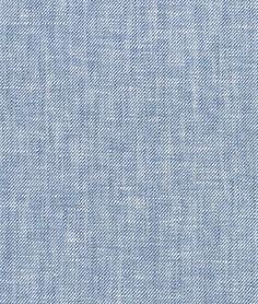 Denim Blue Chambray Linen Fabric
