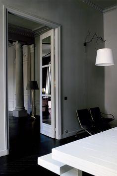 luxury Paris apartment,luxury interiors,luxury homes,gray interiors