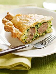 Easy Italian Sausage Pie:  recipe suggested by Margaret