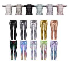 tee and leggins in Second Life (lower poly version) colour options, Marvelous Designer > Blender > Zbrush > Blender > PS > Second Life 3d Modeling, Zbrush, Second Life, 3d Design, Ps, Colour, Fashion, Color, Moda