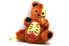 The Zombie Teddy Bear is a Super Scary Halloween Toy trendhunter.com