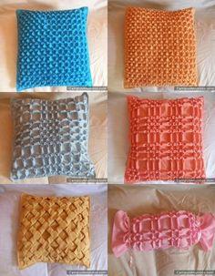 Fotos de  Cojines en drapeado
