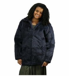 Bergama Women full-skin Sheared Rabbit Jacket - Small - Blue Original Retail is $1,500.. Please call for detailed sizing information.. Fur origin: China. New Unisex Blue full-skin Sheared Rabbit Jacket.. This is a Unisex style jacket that is sized for Men..  #Bergama #Apparel