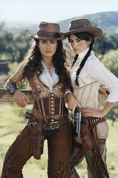 Well, one is North American (Mexico) the other a European (Spaniard), but ... . (Salma Hayek and Penelope Cruz in the movie The Banditas)