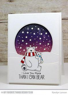 My Favorite Things - POLAR BEAR PALS - Clear Stamp – Hallmark Scrapbook
