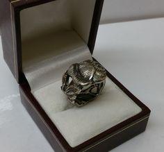 162 mm Besteckschmuck Silberbesteck Ring von BesteckschmuckBaron