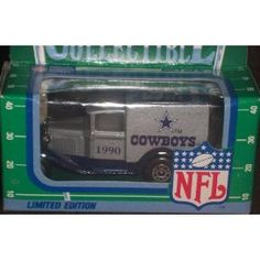 Dallas Cowboys 1990 Matchbox White Rose NFL Diecast Ford Model A Truck Collectible Car by NFL   $39.99