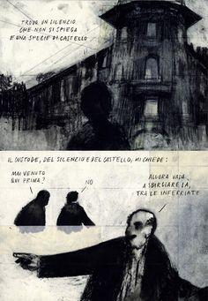 Short comics for the radio show Amnèsia by Francesco Chiacchio