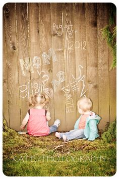 this is cute also. having the kids on the save the dates! :)