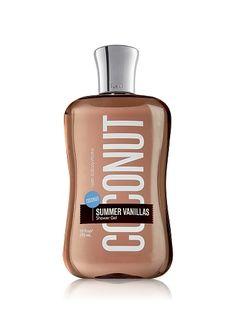 Bath & Body Works Coconut Vanilla Shower Gel Coconut Lotion, Coconut Milk, Perfume, Body Cleanser, Bath And Bodyworks, Best Bath, Just Dream, Body Spray, Smell Good